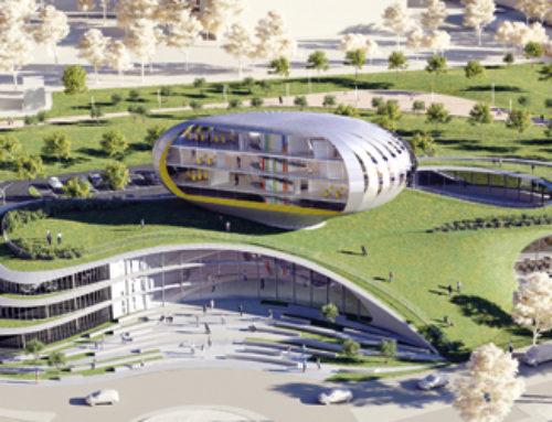Progetto per nuova sede amministrativa Orogel