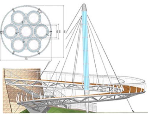 Progetto per una passerella in vetro strutturale